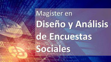 MAGÍSTER EN DISEÑO Y ANÁLISIS DE ENCUESTAS SOCIALES